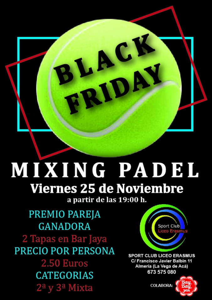 Mixing Black Friday