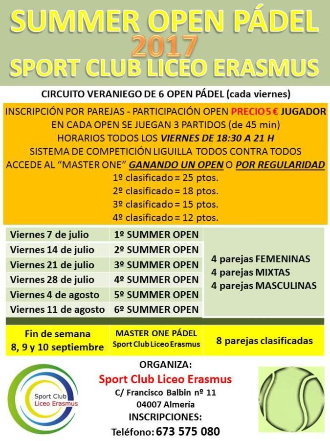 Summer Open Pádel